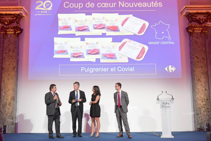 Covial et son steak haché racial à l'honneur le 14 octobre à Paris.